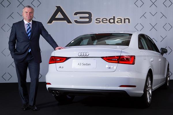 Jörg Hofmann, presidente e CEO da Audi do Brasil