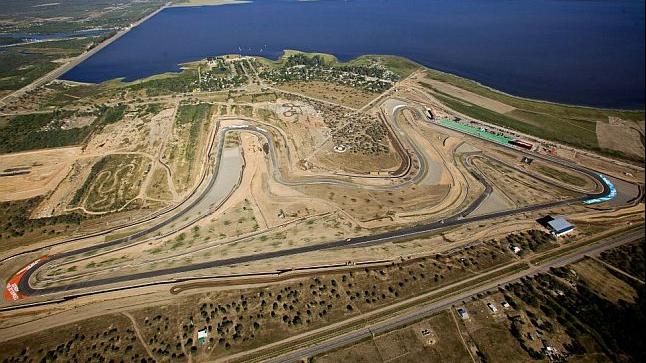 O autódromo Termas de Río Hondo, na Argentina.