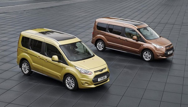 A van Ford Ford Tourneo Connects