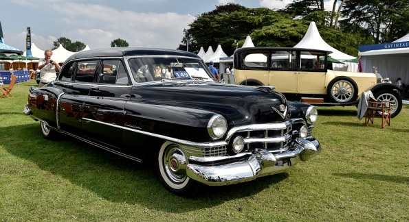Cadillac de Perón e Evita, ex Fangio, vendido em leilão inglês.