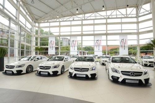 Mercedes-Benz Challenge promove a marca e as versões AMG