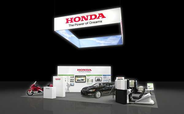 Honda's booth at the 2014 ITS World Congress