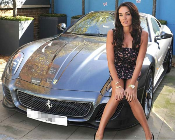 Tamara-Ecclestone-with-Ferrari-599