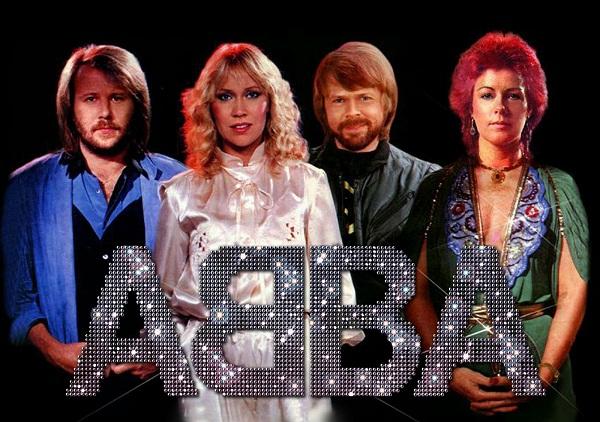 Formação original do grupo pop sueco ABBA