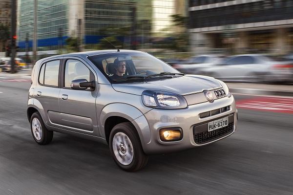 Novo Fiat Uno, para embolar a liderança do mercado.