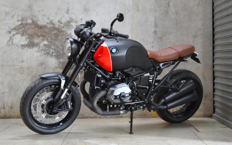 BMW R NINE T PRETA - 5