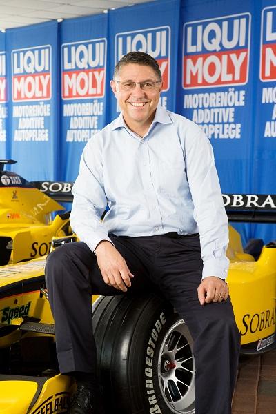 Peter Baumann, diretor de marketing da Liqui Moly.