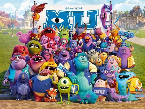 """""""Universidade dos Monstros"""", com Mike e Sully"""