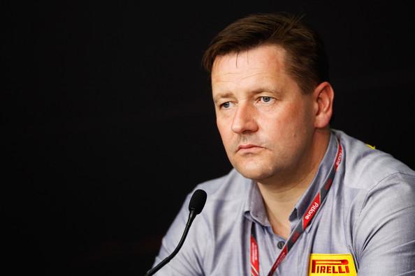 Paul Hembrey, o diretor da Pirelli