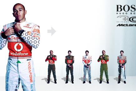 "A Hugo Bosso vai voltar a ""vestir"" Lewis Hamilton"