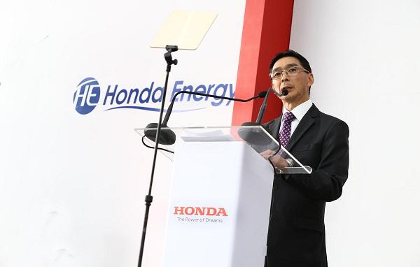 Carlos Eigi, presidente da Honda Energy