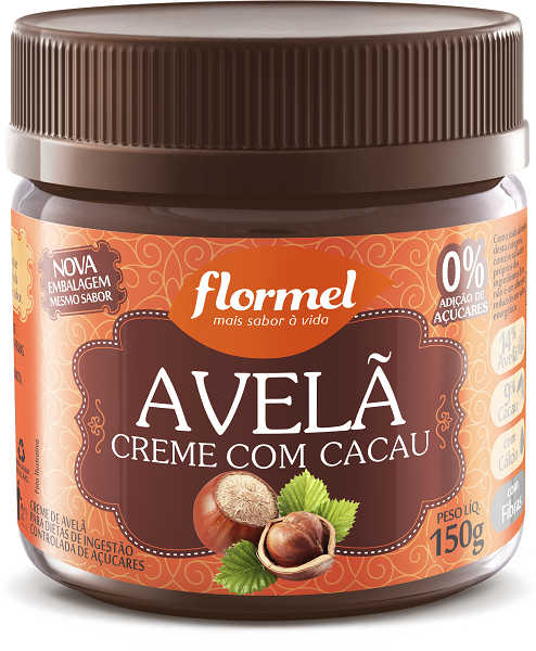 Avelã Creme com Cacau_Flormel