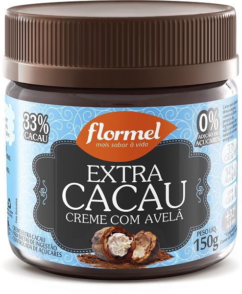 Extra Cacau Creme com Avelã_FLORMEL