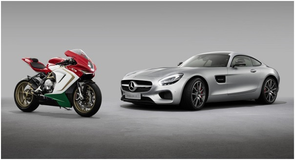 MV Agusta e Mercedes. Sinergia.