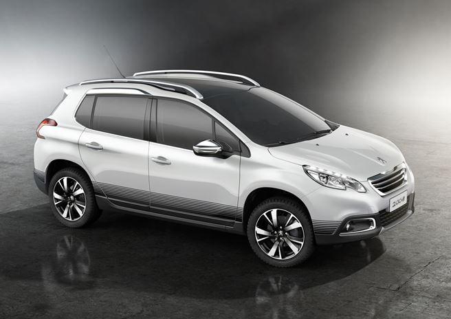 Peugeot 2008, início de 2015