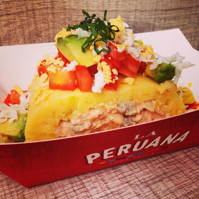 Prato peruano do La Peruana