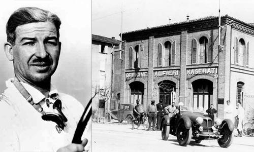 """Alfieri Maserati e a primeira """"oficina"""" da marca centenária"""