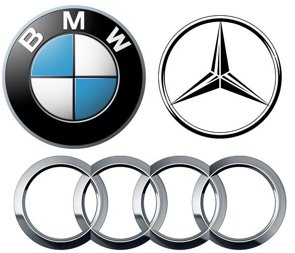 BMW-Audi-Mercedes-Benz