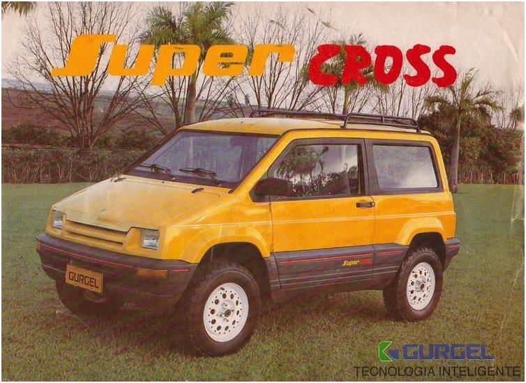 Gurgel BR 800 Super Cross. Durou pouco, criou referências