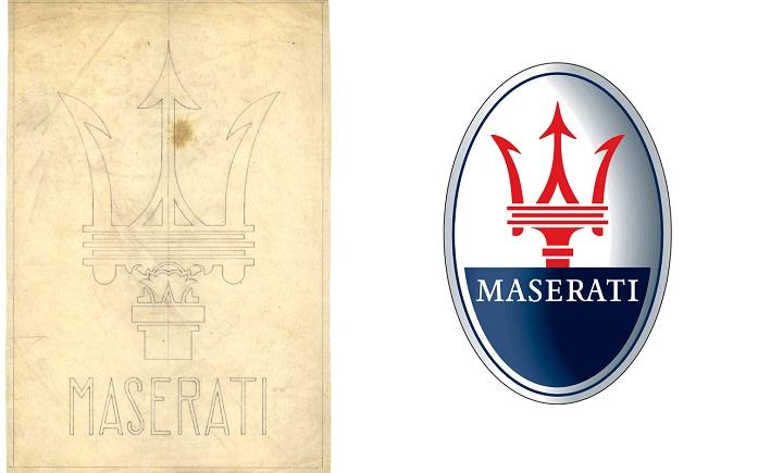 Tridente, o símbolo da Maserati