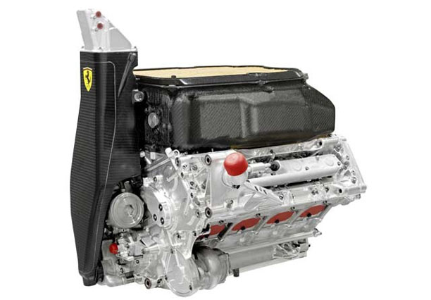 O motor Ferrari