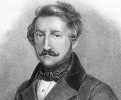 Gaetano Donizetti, o compositor italiano autor da obra prima