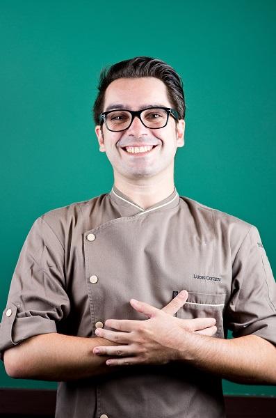 Lucas Corazza, o chef especialista em patisserie