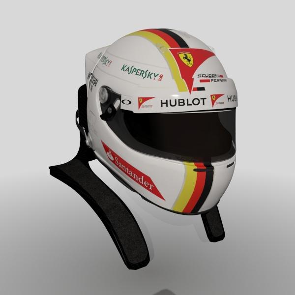 0000-Vettel 2015 Helmet
