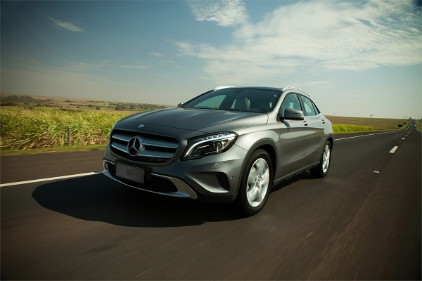 Mercedes GLA. Made in Iracemápolis em 2016