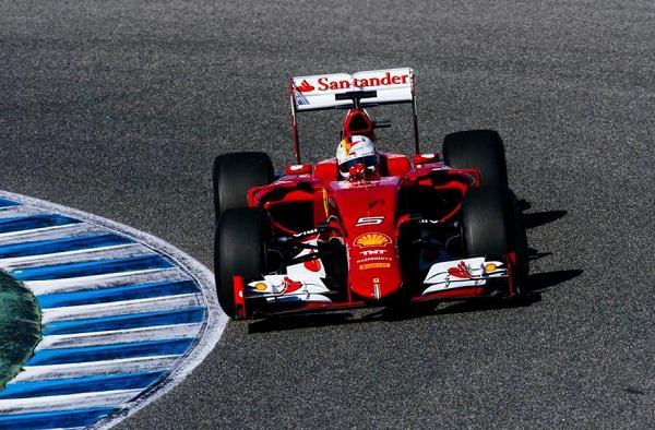Vettel e Ferrari: começo promissor