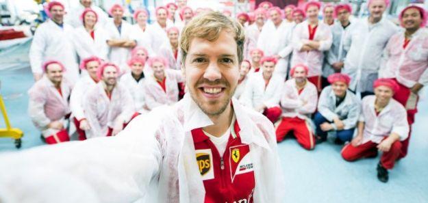 Vettel, como Schumy, outro alemão na Ferrari