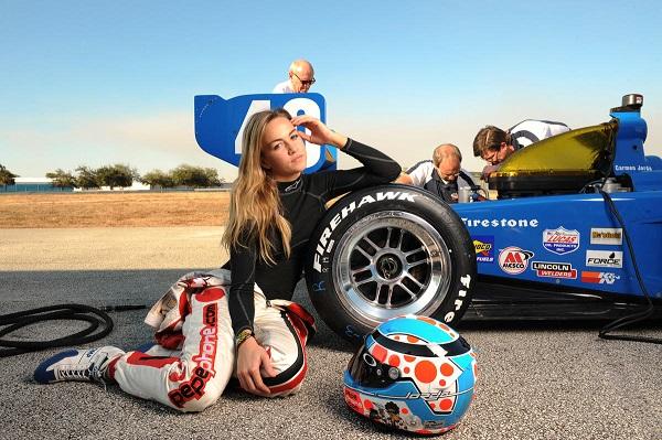 Carmen Jorda Test in Sebring Raceway with Walker Racing by Jonathon Ziegelman