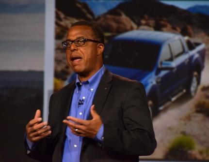 Ken Washington, vice-presidente de Pesquisa e Engenharia Avançada da Ford