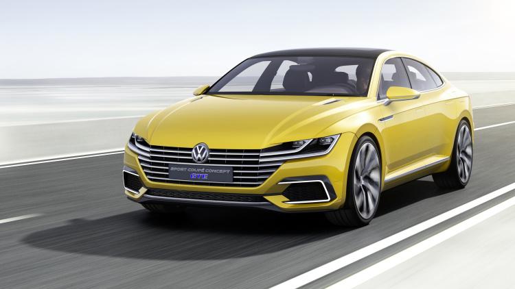 Sport Concept Coupé VW inspirará sedãs médios da marca