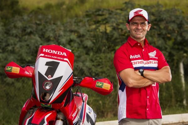 Jean Azevedo - Piloto Honda Racing