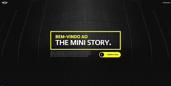 Tela tour virtual MINI Story