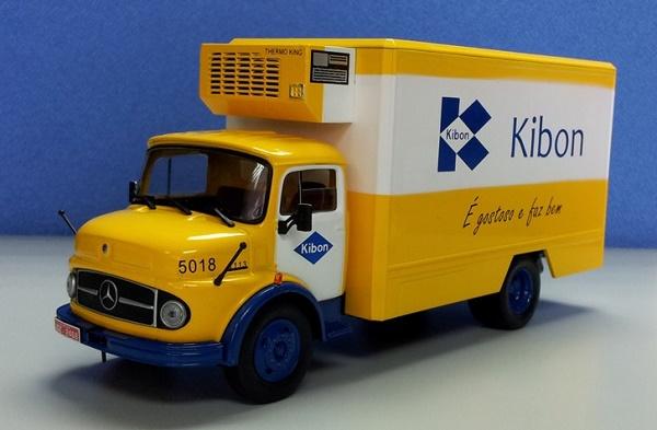 caminhão kibon