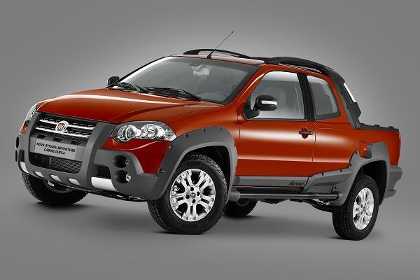 Fiat picape Cabine Dupla, Adventure, pico da série