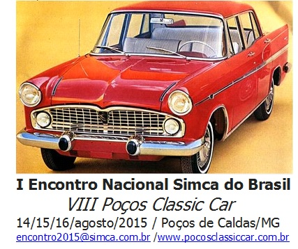 Cartaz do Encontro Simca