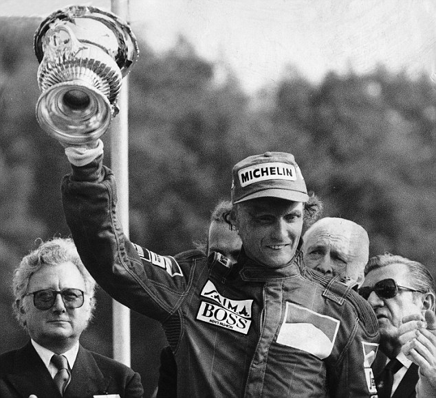 Lauda claims his third win of the season in the  British Grand Prix. 22/7/84