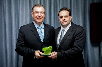 Eduardo Bertolini da ZEN e Rodrigo Coutinho da Editora Expressão