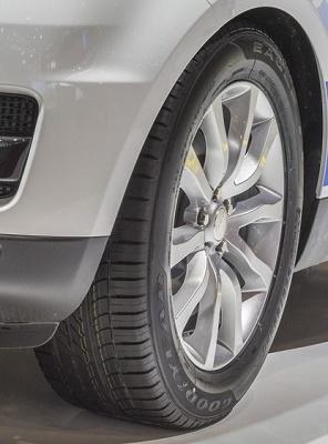 Goodyear F1 Asymmetric - Range Rover Sport