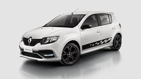 Renault Sandero RS. Melhoria por desenvolvimento geral