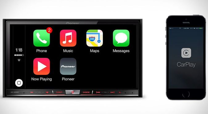 Pioneer NEX CarPlay Receivers For iPhone Integration In Your Car